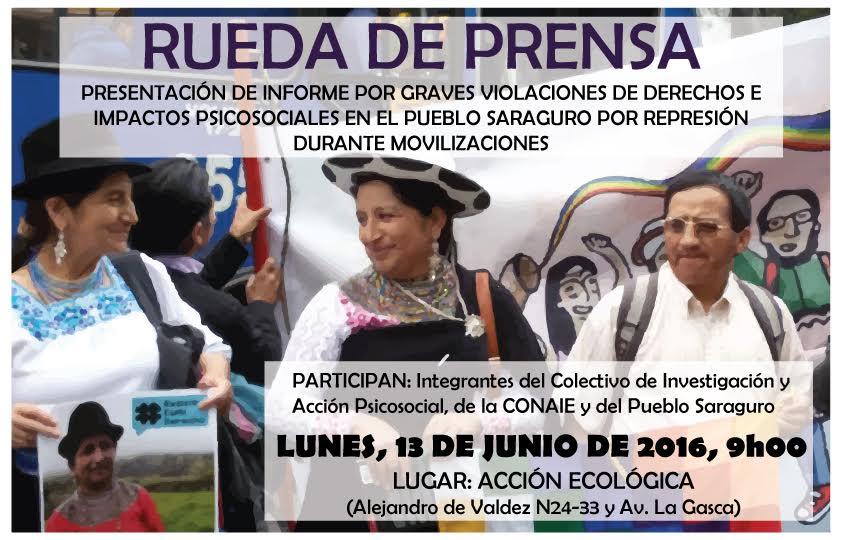 Afiche Rueda de Prensa